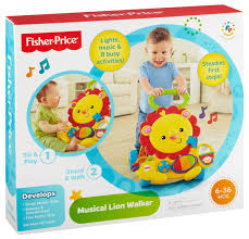 FISHER-PRICE-MUSICAL-LION-WALKER