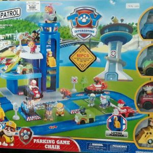 PAW PATROL PARKING GAME CHAIR