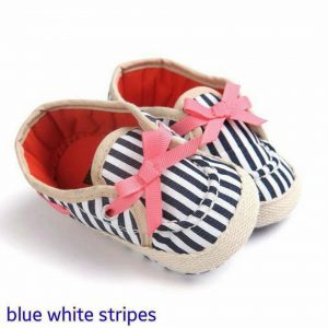 PW SHOES BLUE WHITE STRIPE