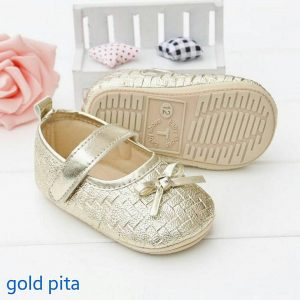 PW SHOES GOLD PITA