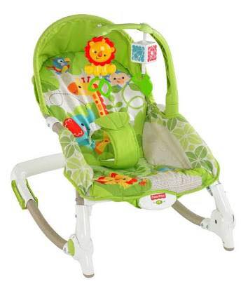 FISHER PRICE - NEWBIRB TO TODDLER PORTABLE ROCKER