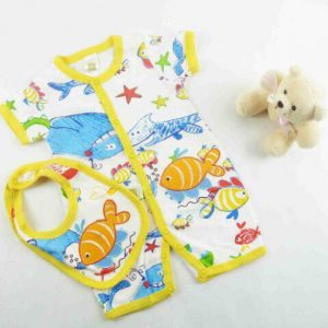 SET 2 PCS JUMPER WITH BIB