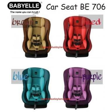 CAR SEAT BABYELLE BE-706
