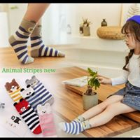 ANIMAL STRIPE NEW SOCKS