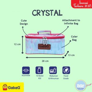 CRYSTAL COOLER BAG GABAG