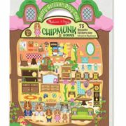 PUFFY STICKER CHIPMUNK HOUSE
