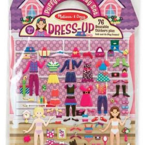 PUFFY STICKER DRESS UP